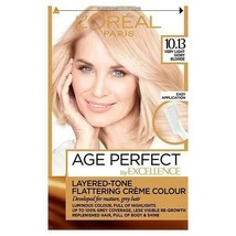 L'oreal Age Perfect - Very Light Ivory Blonde Permanent Dye For Mature Grey Hair - $17.86