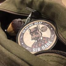 Premium Shaving Soap for Men By Sir Hare - Barbershop Fragrance - Shave Soap Tha image 8