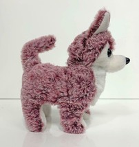 WALKING BARKING TOY MOVING RED COLOR HUSKY DOG  battery operated NEW fun... - $9.45