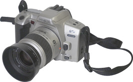 Minolta QTsi 35mm SLR automat AF camera with Zoom 35-70 mm - $23.36