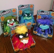 Set Of 4 New GRUMBLIES Hydro Bolt Scorch Tremor Interactive Animals With... - $89.09
