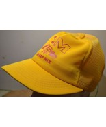 Vintage Strapback Trucker Mesh Hat F-M Ready Mix Fargo ND US Made - $12.49
