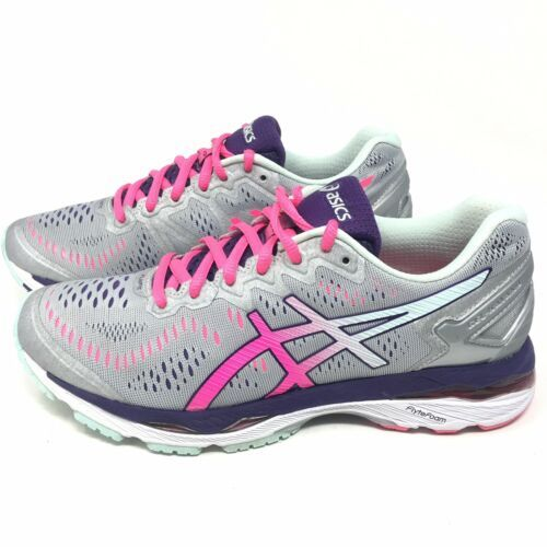 97c6a905944c66 Asics Womens Gel Kayano 23 Silver Pink and 22 similar items. 12