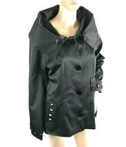 DOLCE&GABBANA Womens Blazer Black Jacket Size M/L Collared Fashion Forwa... - $177.67