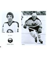 RIC SEILING 8X10 PHOTO HOCKEY BUFFALO SABRES PICTURE NHL B/W - $3.95