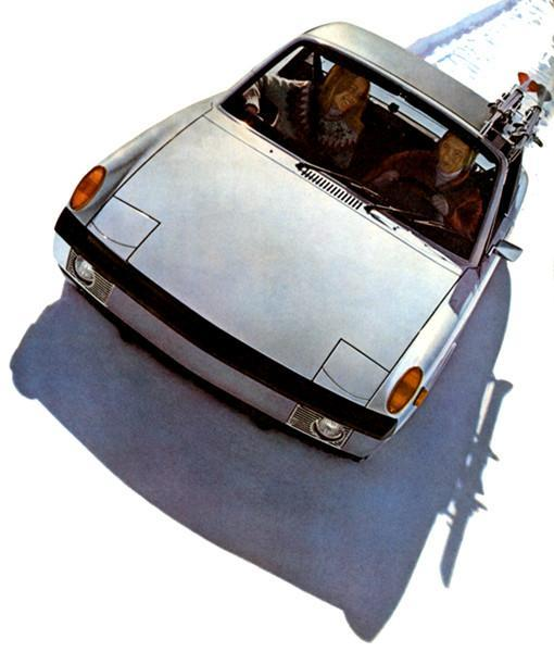 Primary image for 1973 Porsche 914 - Promotional Advertising Poster
