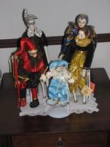 Vintage Hallmark, Brinn, Etc. Porcelain Resin Plastic Dolls With Stands Lifelike - $16.95