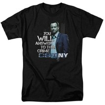 CSI NY t-shirt TV drama Answer to this crime 100% cotton graphic tee CBS980 image 1
