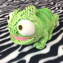 "Disney Store TANGLED Rapunzel's Chameleon Lizard Plush PASCAL 8"" Stuffed... - $11.12"