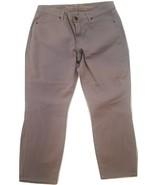 "NWT CJ by Cookie Johnson ""Believe"" Women's Cropped Gray Leggings - $39.95"