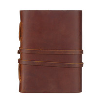 Leather Journal Travel Notebook, Handmade Vintage Leather Bound Writing N - $67.00