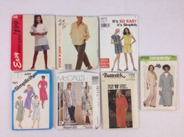 Sewing Patterns Assorted Women Size 14 Some Cut & Uncut McCalls Simplicity Butte - $24.50
