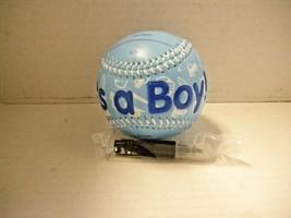 Baseball, Keepsake, It's A Boy Basebal, Brand New - $13.99