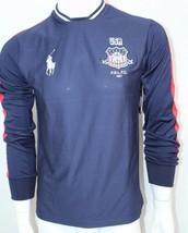 Ralph Lauren Polo Sport Men's Long Sleeved Jersey Navy Blue Sz Small NWT - $58.05