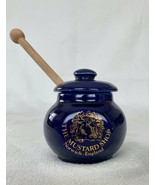 "The Mustard Shop Norwich England Carlton Ware Ceramic Cobalt Blue 3"" Mus... - $17.40"