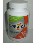 One-A-Day Women's 50+ Complete Daily Multivitamin 65 Tablets Exp. 10/2021 - $12.19