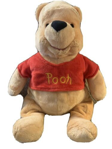 "Primary image for Disney Store Winnie the Pooh Plush 16"" Pooh Bear Soft So Cute"