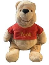 "Disney Store Winnie the Pooh Plush 16"" Pooh Bear Soft So Cute - $16.43"