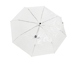 Clear Umbrella, Travel Umbrella, Folding Umbrella - by Home-X - $31.91