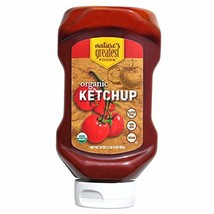 Nature's Greatest Foods, Organic Natural Tomato Ketchup, 20 oz Bottle Pack of 12