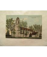 Nebraska Postcard St Philomena Catholic Church Omaha 1911 NE - $5.99