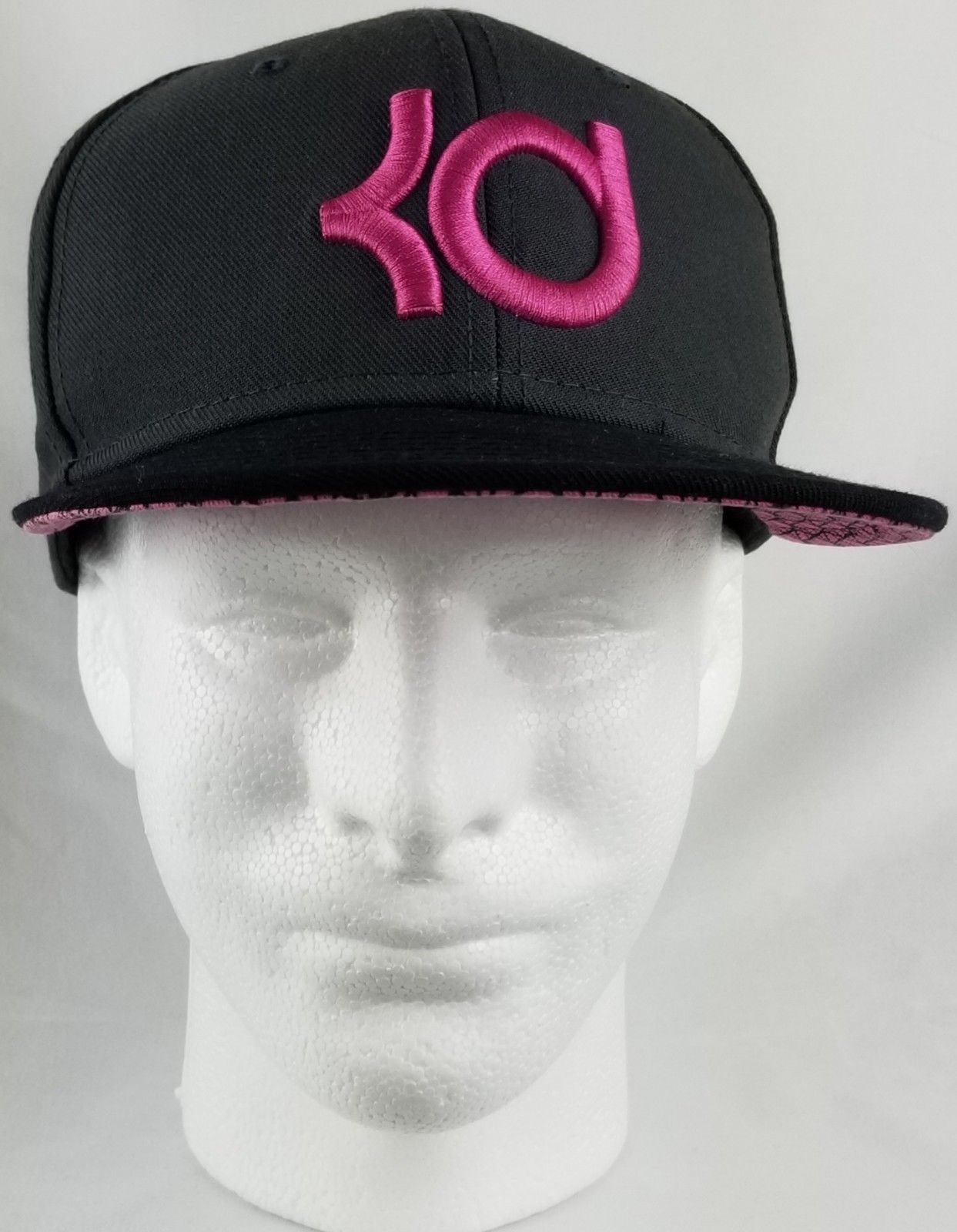 963e48834133e ... spain nike kd kevin durant nba true adult snapback hat cap w grey pink  logo 521c4