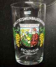 Qualitatsweinbaugemeinde Shot Glass Wine Tasting Gotteshilfe Bechtheim W... - $6.99