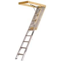 Attic Ladder Aluminum with 375 Lbs Maximum Load Capacity 7 ft 8 in to 10... - $219.97
