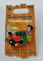 2020 Disney World Magic Kingdom Big Thunder Mountain Railroad Anniversar... - $32.66
