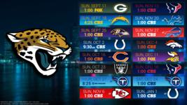 Jacksonville Jaguars NFL 2017 Schedule Poster 24 X 36 inch - $18.99