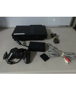 TESTED Works Great PS2 Console System Original Black w/ Controller Multi... - $72.26