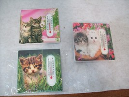 Cat Refrigerator Magnet Thermometer, Home Decor W3 - $4.99