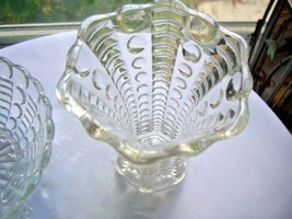 "Indiana Glass c 1940 Mayflower Pattern 5"" Bud Vase - $9.90"