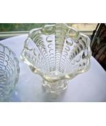 "Indiana Glass c 1940 Mayflower Pattern 5"" Bud Vase - $9.90"