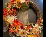 Farmhouse floral wreath Holiday Decor spring farm