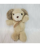 "7"" Russ Berrie Soft & Suede Puppy Dog Plush Stuffed Vintage Toy #325 Kor... - $13.47"