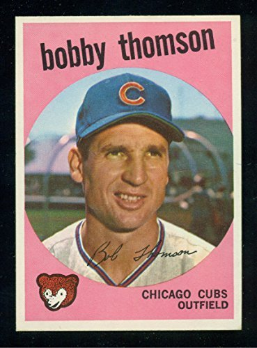 1959 Topps Bobby Thomson - Chicago Cubs #429 - Baseball Card