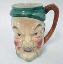 Toby Mug Cup made in Occupied Japan Character Old Man Face Ceramic Vintage - $37.95