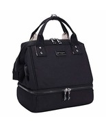 Mini Breast Pump Bag - Black Breast Pump Backpack with USB Charger Port ... - $30.62