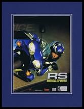 Riding Spirits 2002 PS2 Framed 11x14 ORIGINAL Advertisement - $34.64