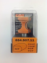 "CMT 854.507.11 Bull Nose Router Bit, 1/2"" Shank,  3/8"" Radius,  Made in Italy - $45.54"