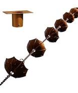 "68"" Decorative Iron Umbrella Rain Chain With Bonus Adapter Installer Piece - $37.61"