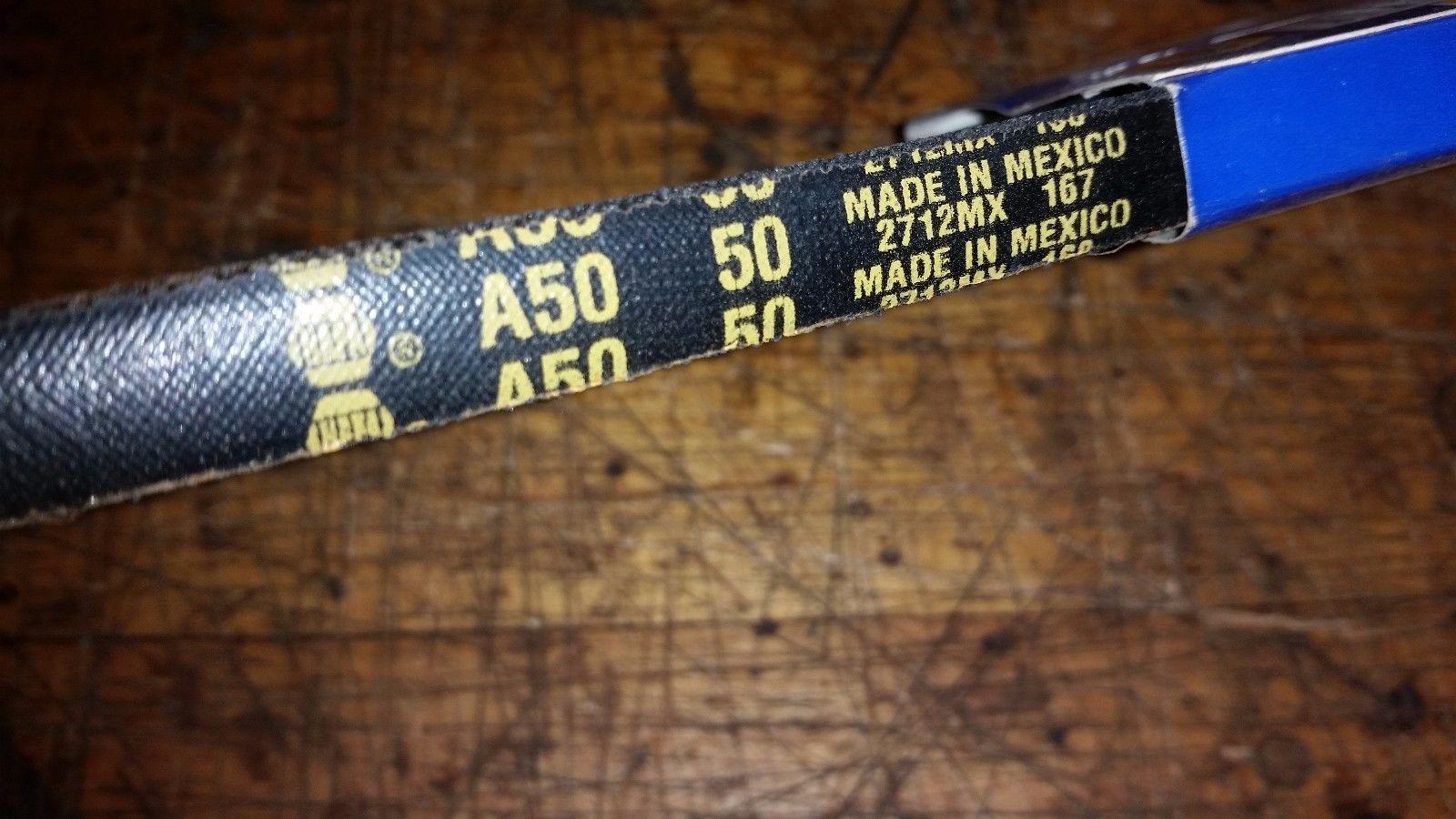 NAPA AUTOMOTIVE A50 Replacement Belt a50 50 2712mx 167