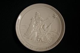 Vtg 1982 Frankoma Pottery~The Wise Men Rejoice~Christmas Plate~By Joniec... - $11.97