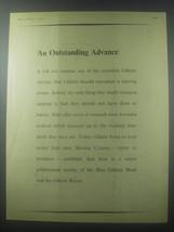 1954 Gillette Razor Ad - An outstanding advance - $14.99