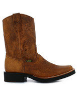 Men's Angus Floter Tan Leather Boot - $98.98