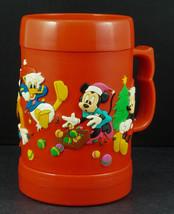 Disney Store light up 3-D Christmas Mug Mickey Minnie Donald Goofy Pluto - £11.70 GBP