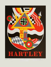 Robert Indiana-Fur K. v. F. (Hartley)-1990 Serigraph-SIGNED - $2,297.50