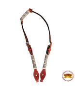 Western Horse One Ear Headstall Tack Bridle American Leather Tan Hilason... - $42.04