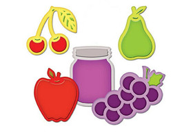 Spellbinders Shapeabilities Dies, Assorted Fresh Fruit #S4-266